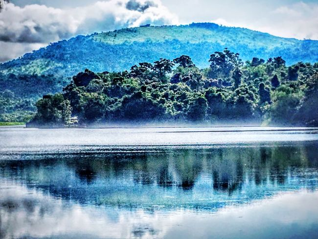 Beautiful nature Water Tranquil Scene Mountain Scenics Tranquility Reflection Waterfront Beauty In Nature Lake Nature Non-urban Scene Idyllic Mountain Range Blue Calm Outdoors Day Majestic Remote Sky TravelPhilippines Eyeem Philippines Philippines Photos EyeEm Nature Lover