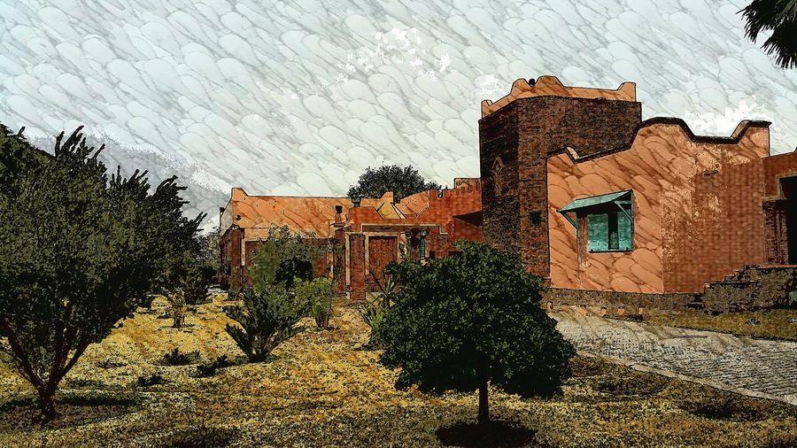 Eastern Morocco Morning Fullcolor Rain Painting Sunrise Impressionism