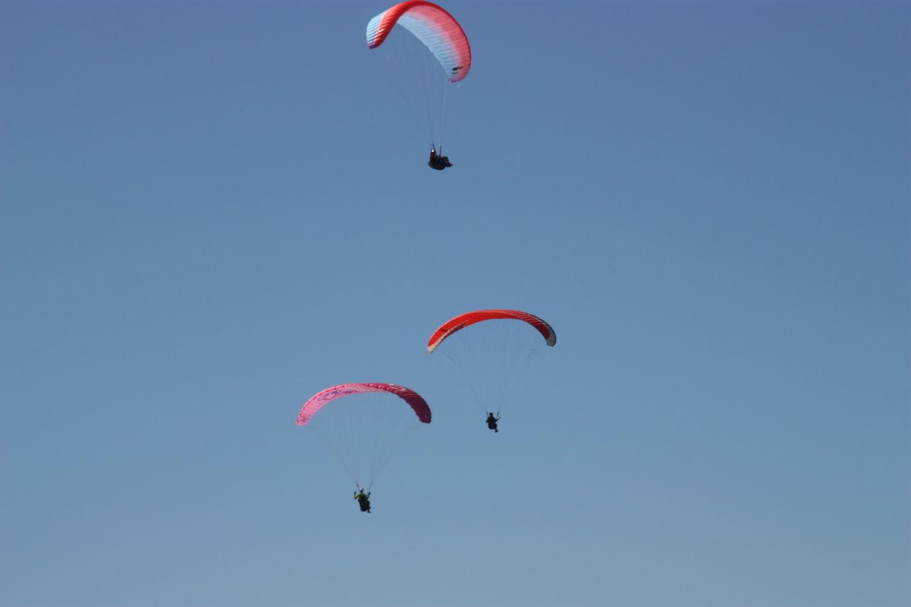 Adventure ASA At The Beach Aviate Bougie Clear Sky Fleet Flow  Fly Flying Leisure Activity Parachute Parachuting Paraglider Paragliders Paragliding Parasail Parasailing Parasailor Sail Skydiving Summer Vela Wind Wing