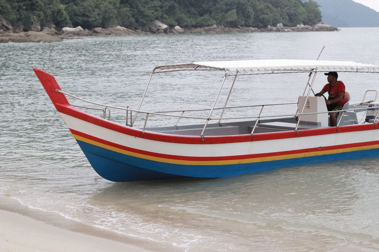 Boat Water Sea Outdoors Beach Longtail Boat Mode Of Transport Wave