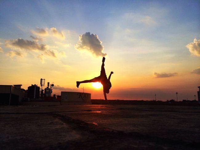 Sunset Acrobatics  Landscape Cityscapes