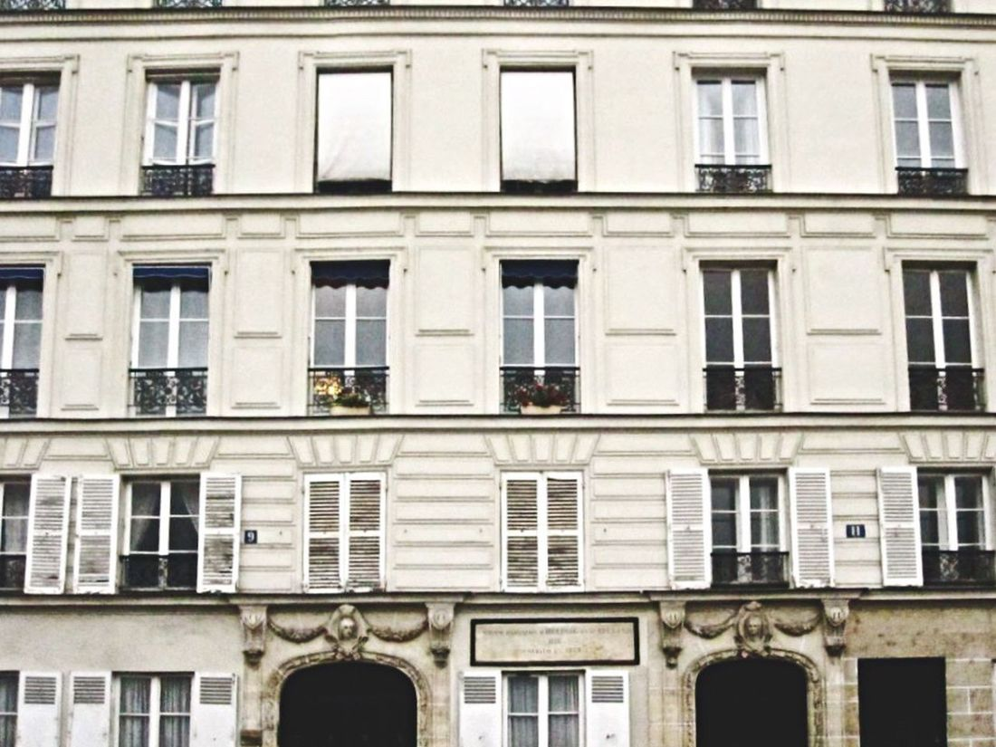 Everything In Its Place Building Building Exterior Order Precision Organized Symmetry Window Architecture Paris Rectangle