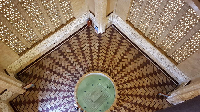 From Where I Stand Tshwane Looking Down! Heritage Site Voortrekker Monument Pretoria Architecture Architectural Feature History Tourism National Landmark Travel Destinations Looking Down