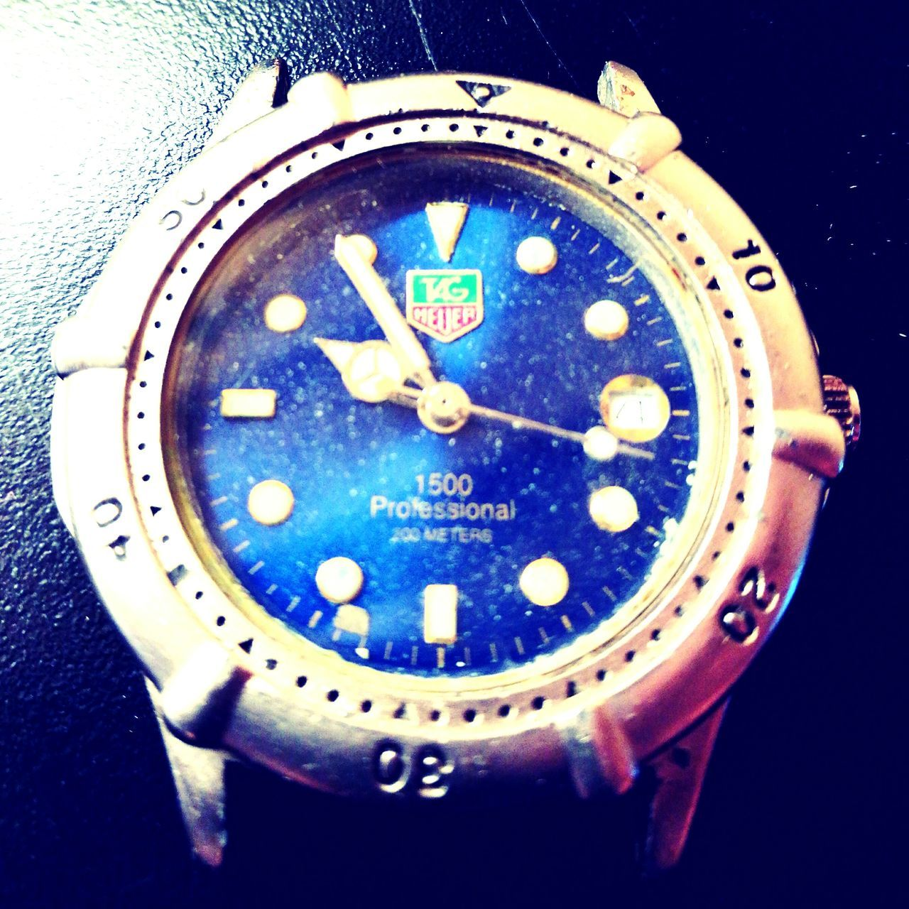 Close-up Time No People 30yearoldtagheuer Tag Heuer Watch Watches Heritage project wedding gift. Lieblingsteil
