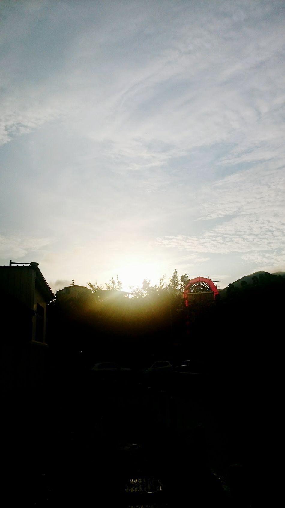 Sunshine after rain Sunset_collection Rainy Days HongKong Tuenmun