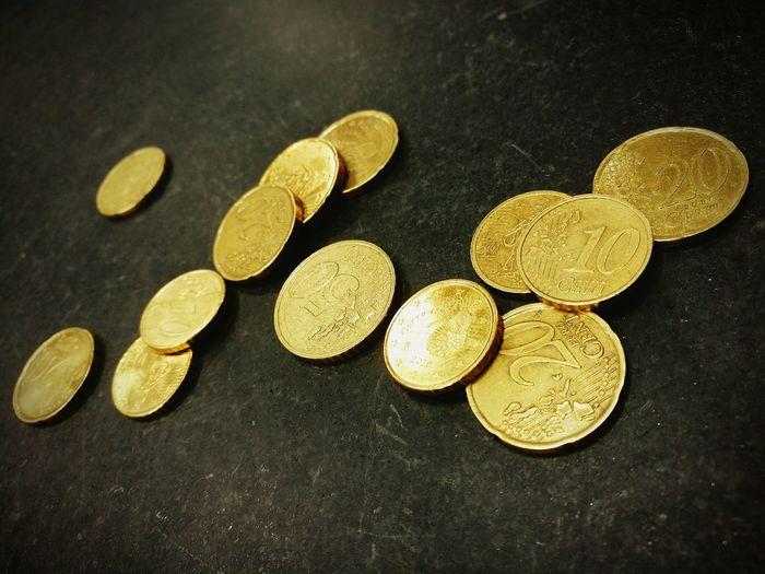 EUR Devise Money Money Money Gold Pieces Fs313 ...by fs313