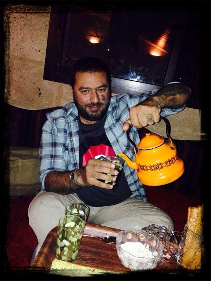 Drinking Tea The Explorer - 2014 EyeEm Awards The Portraitist - 2014 EyeEm Awards TheIraqi Imhere