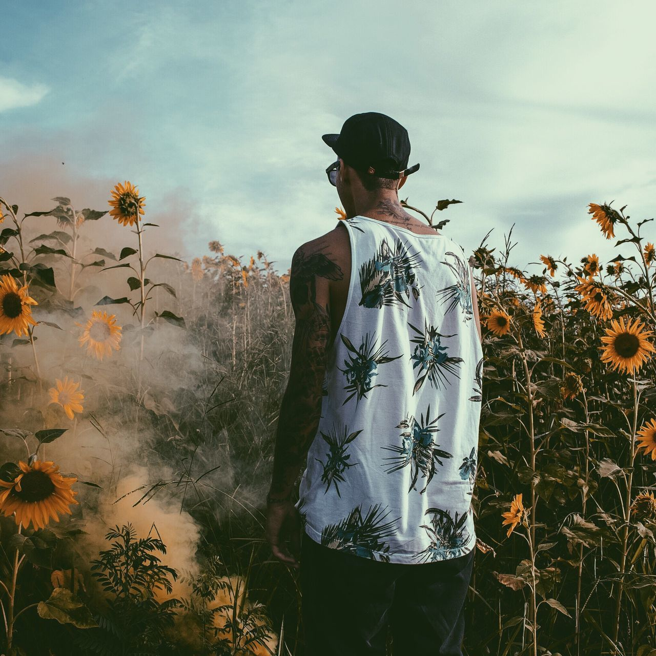 Beautiful stock photos of tattoo, Beauty In Nature, Cap, Casual Clothing, Day