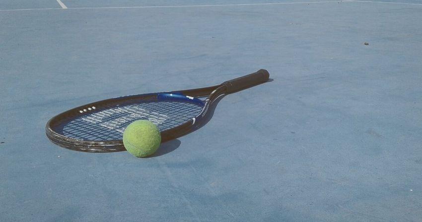 Tennis Tennis Ball Tennis Racket Sport Racket Court Ball No People Racket Sport Outdoors Teamwork Competition Day
