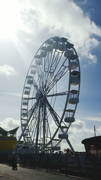 Fun Park Solent Wheel Funfair Streetphotography Relaxing Enjoying Life Check This Out