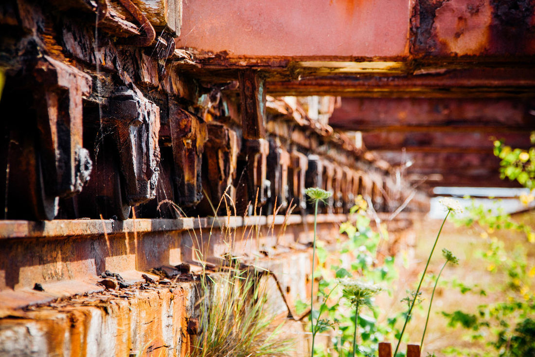 Abandoned Damaged Day Deterioration Focus On Foreground No People Old Rust Rusty Weathered