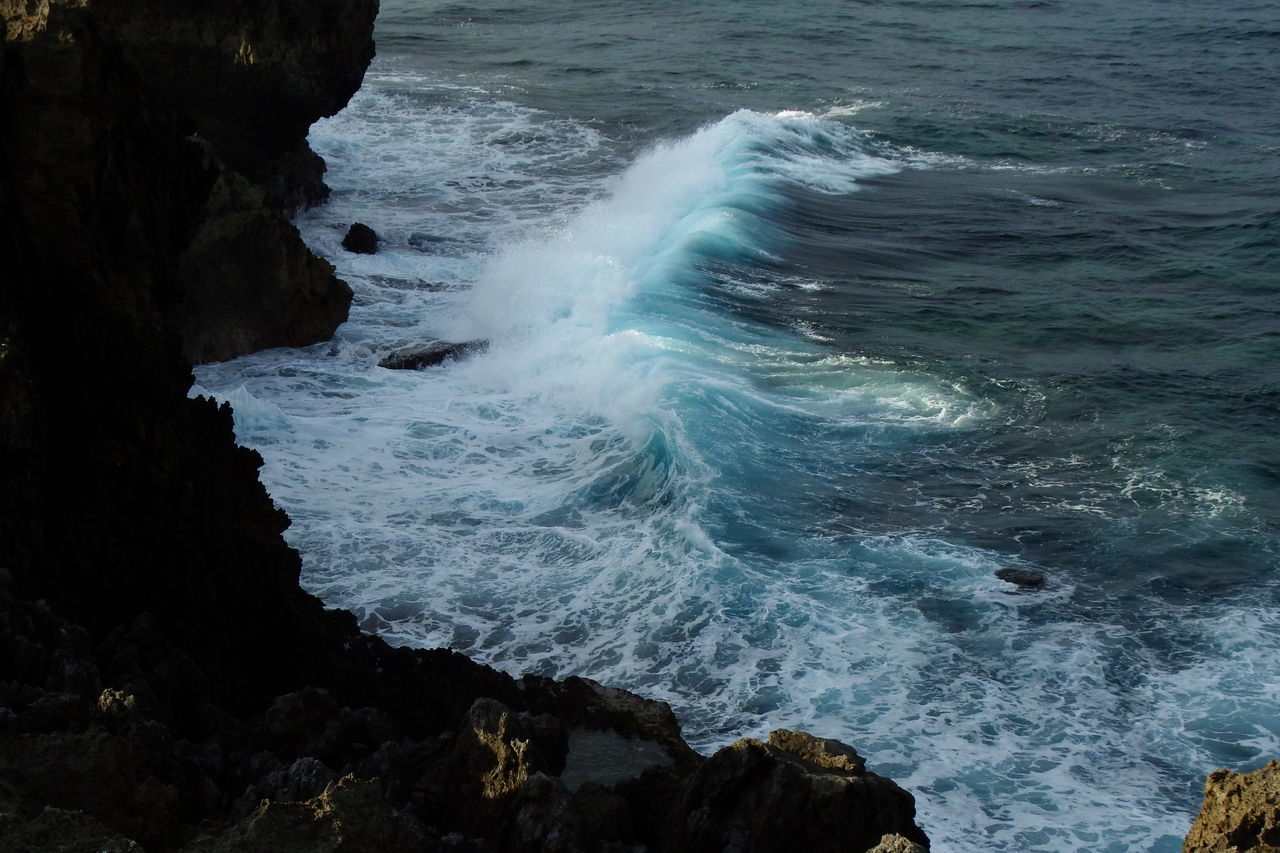 Big Waves Cliff Edge Cliffs And Water Ocean View Water Sea Beauty In Nature Outdoors Nature Day