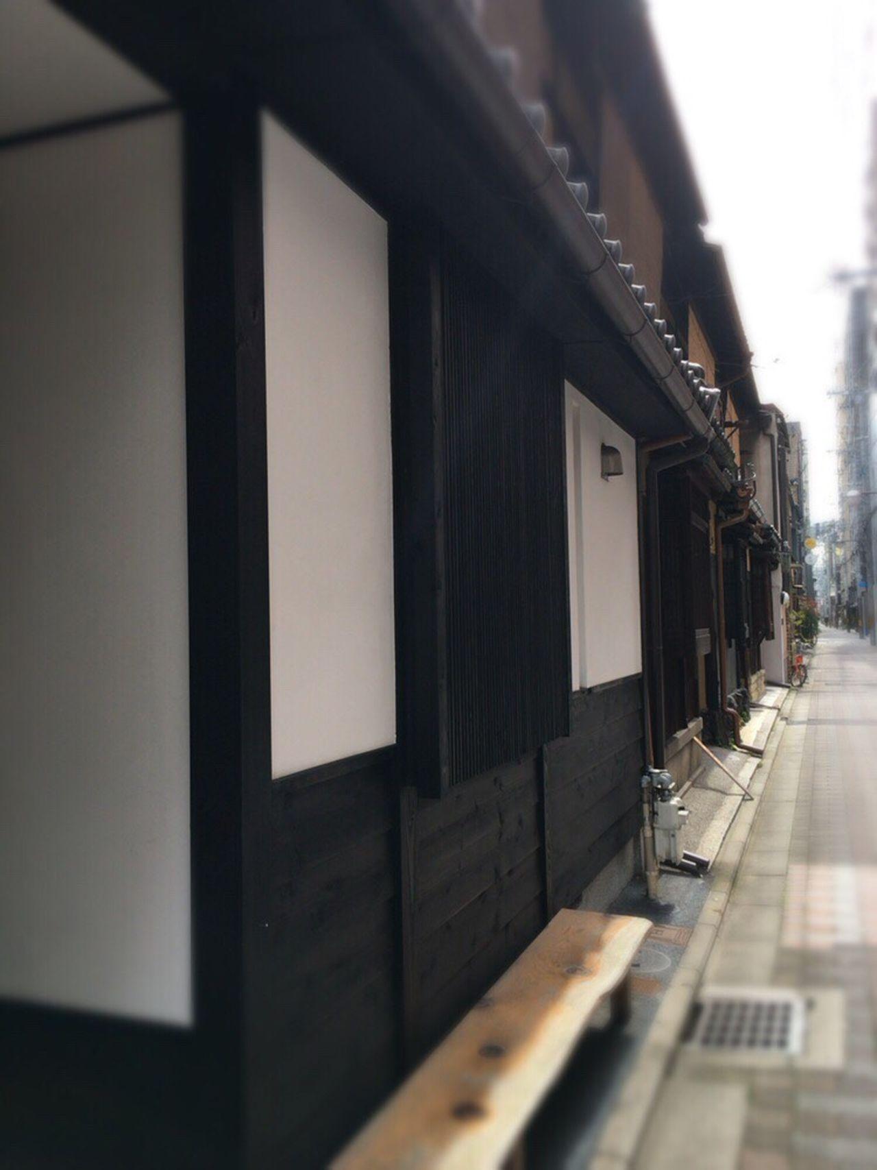 Kyoto Street Kyoto,japan Kyoto Matiya Kyoto Tradisional House Matiya Kyoto Street Wind Kyoto City