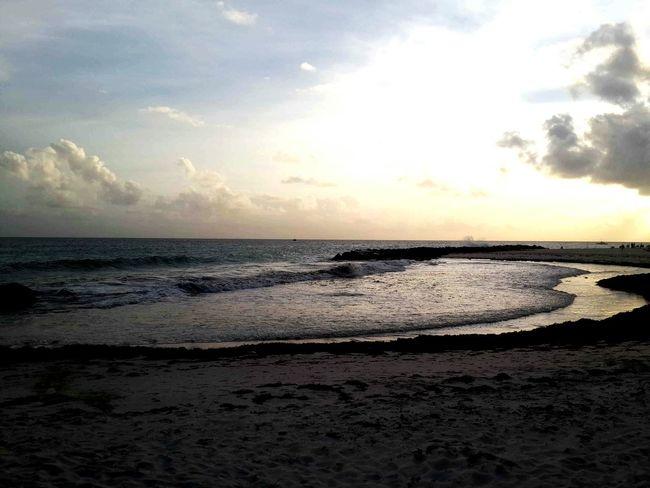 Beautiful Sunset Islandlife Relaxing