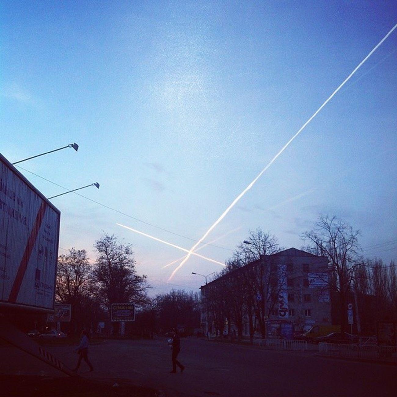 прогулка небо Самолёты ??✈