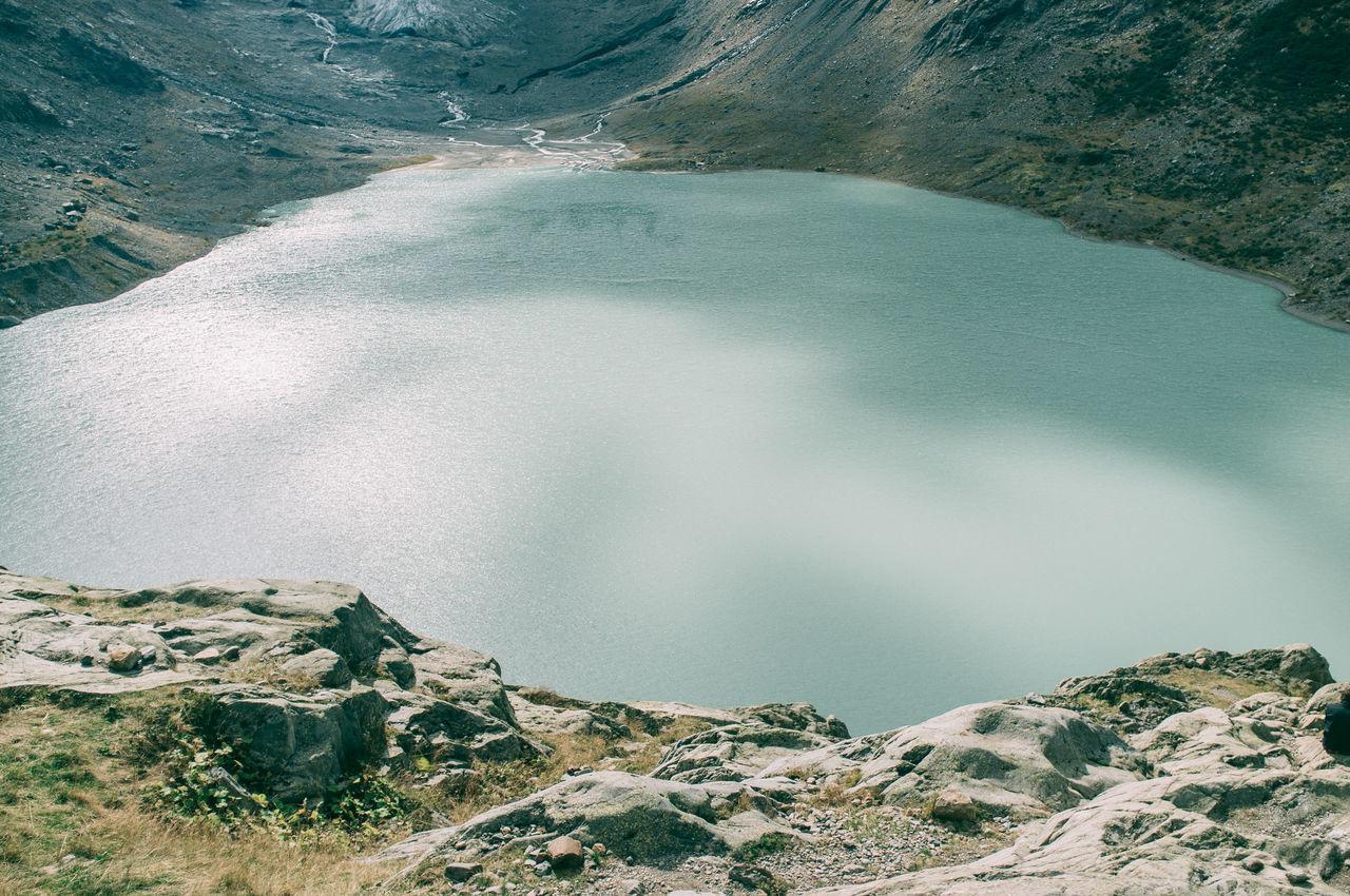Beautiful stock photos of lake, Day, Grass, High Angle View, Lake