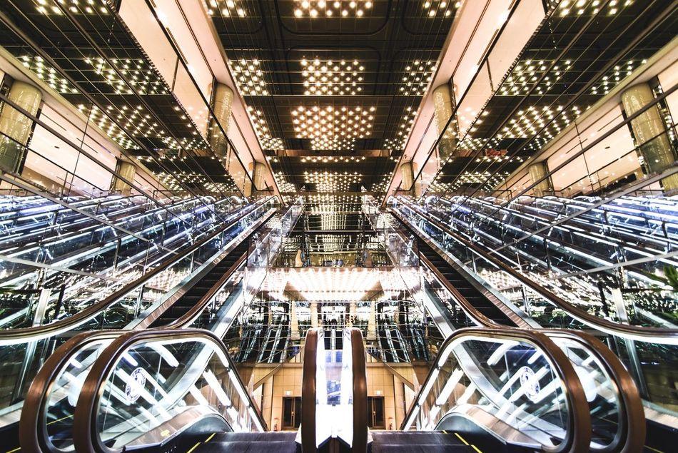 Escalator Architecture No People Minimalism Minimalobsession Tokyo Minimal