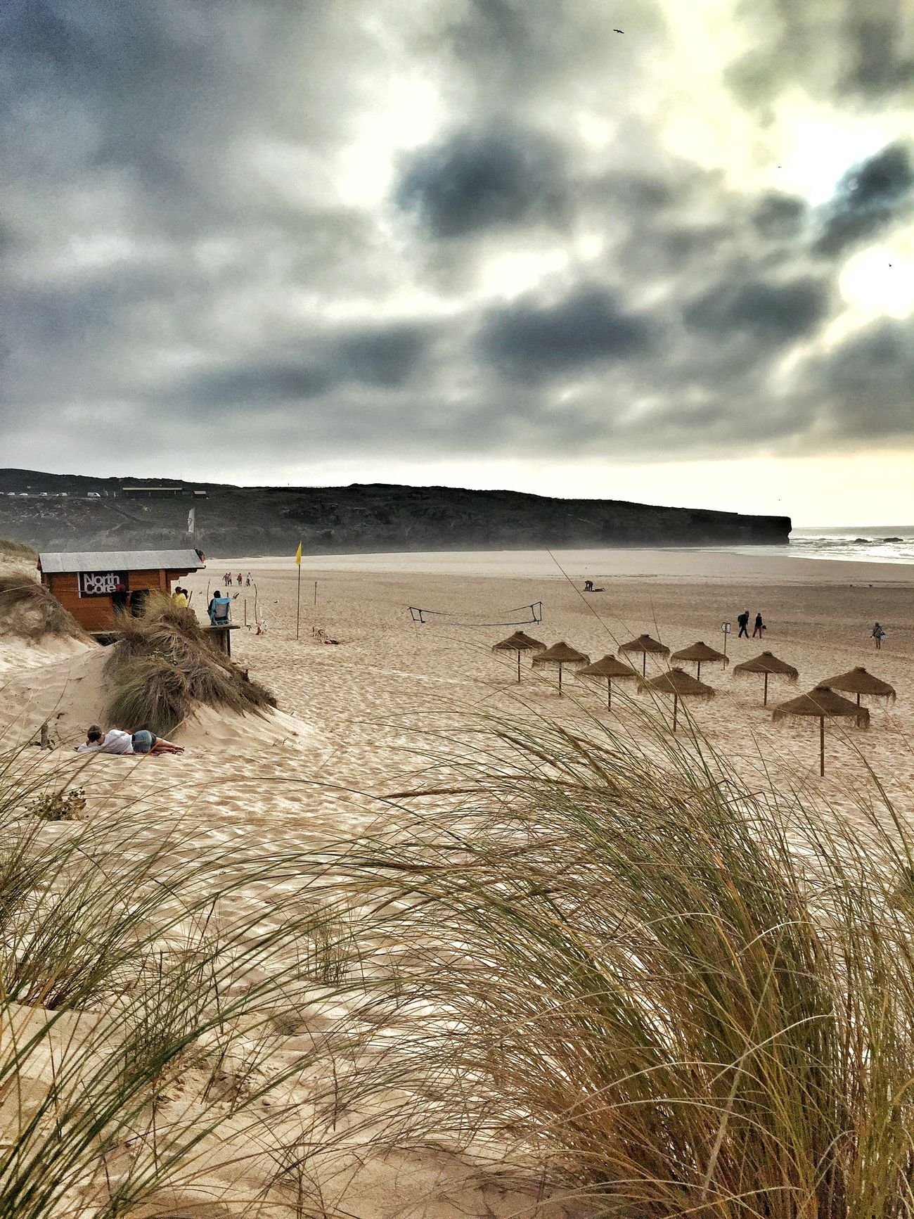 Sand Dunes Sandy Beach Off Season Low Tide Lonely Beach EyeEm Nature Lover Life Is A Beach Parasols Costa Vicentina Algarve