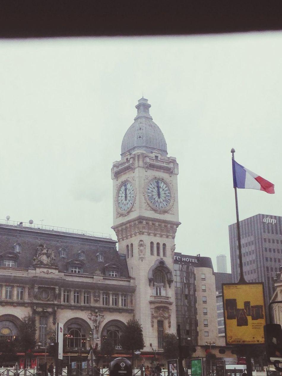 Greysky Paris Clock Frenchflag The Time is locked
