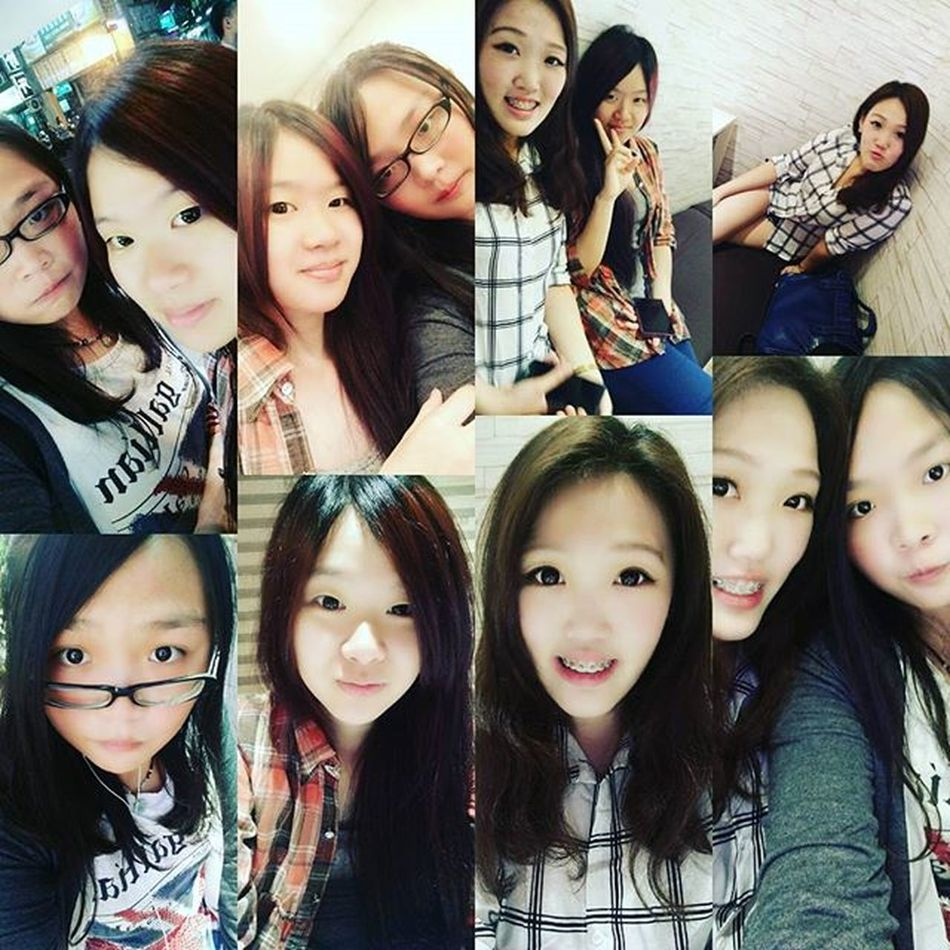 今天跟一群辣妹們一起去吃飯 Its Sohot Beautifully  Girl Thank u have three years of companionship, friendship forever。 Ioveyou Friends Forever Today Happiness