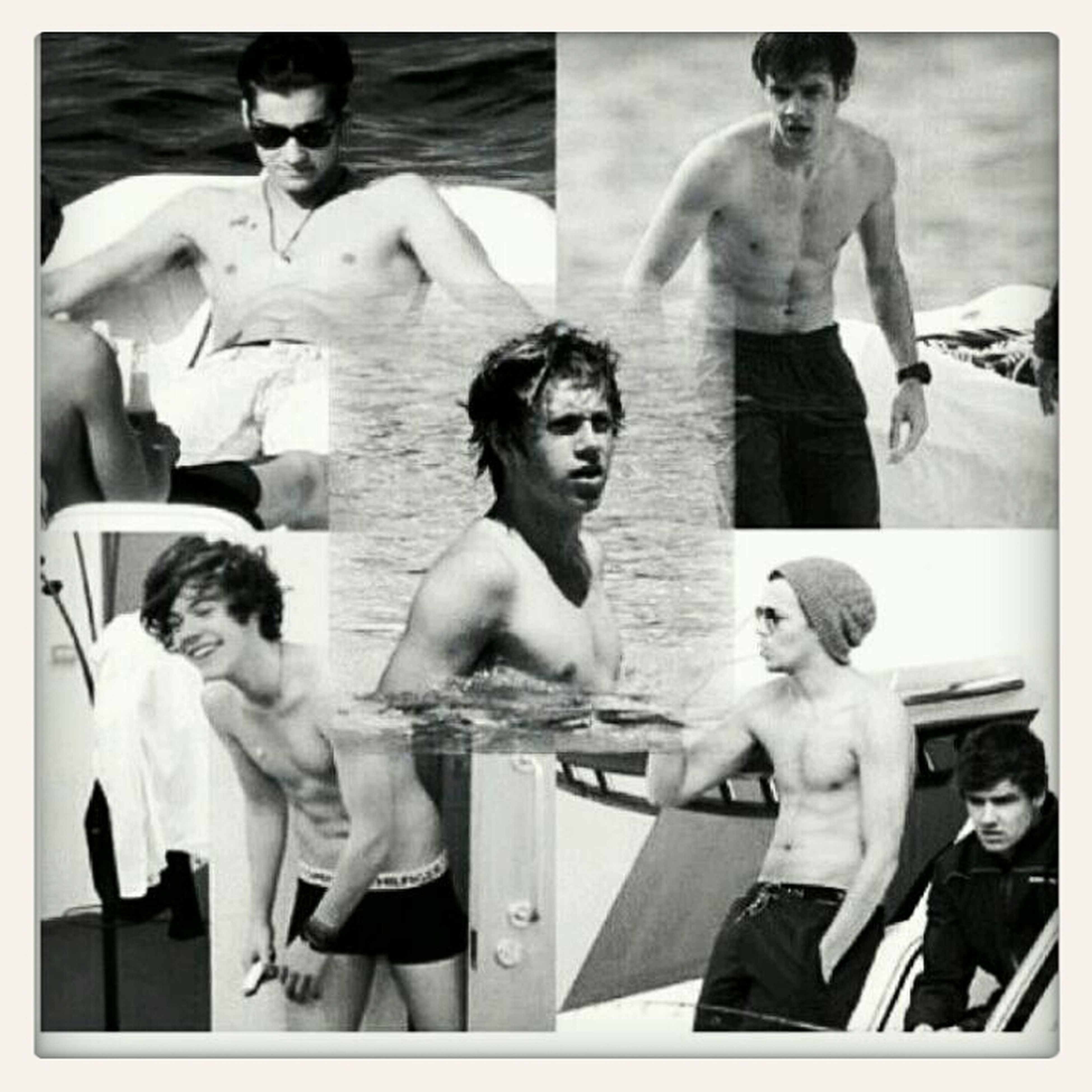 One Direction Shirtless