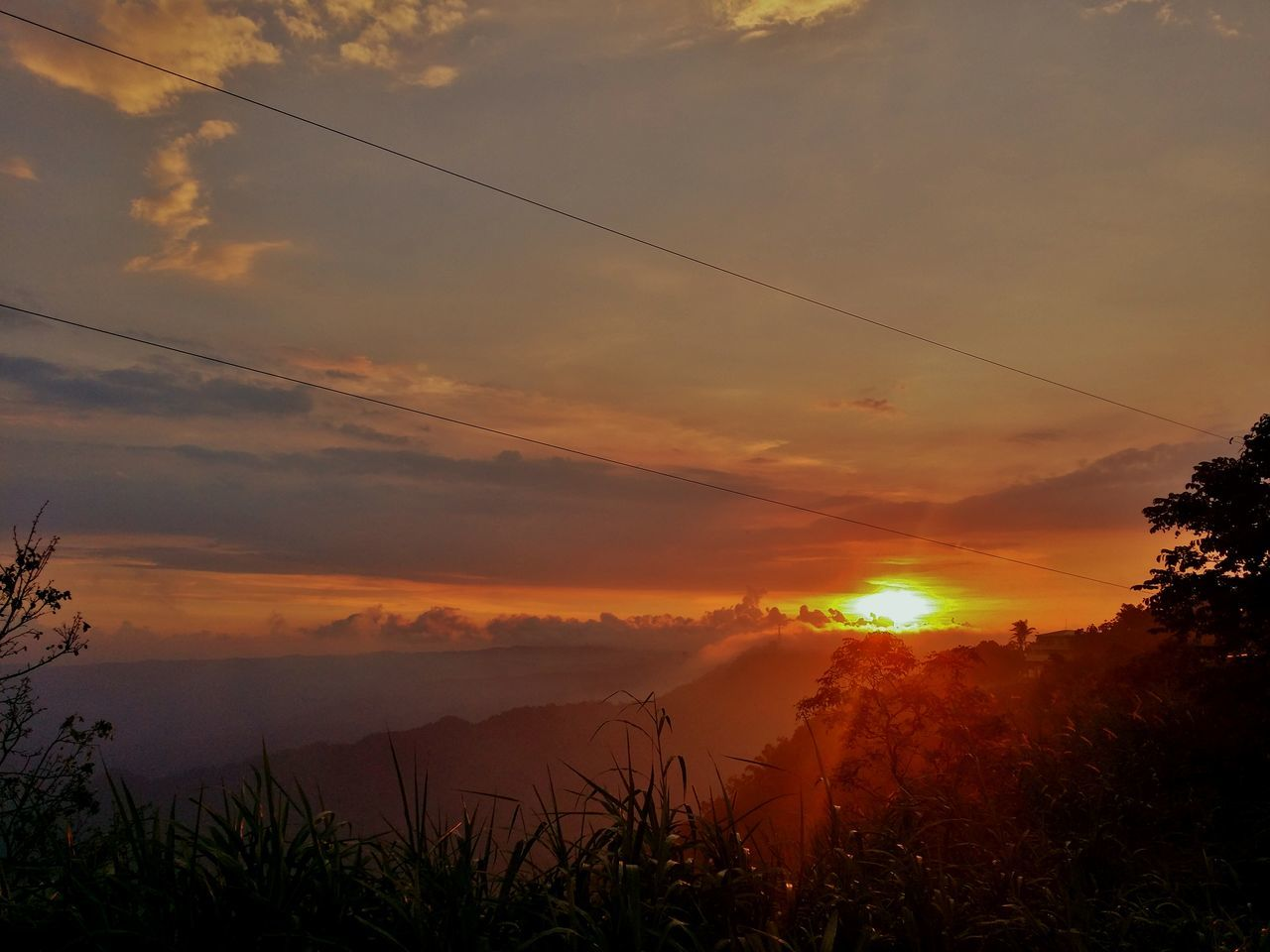 Sunset in Tagaytay #EyeemPhilippines #sunset #Tagaytay Light Majestic