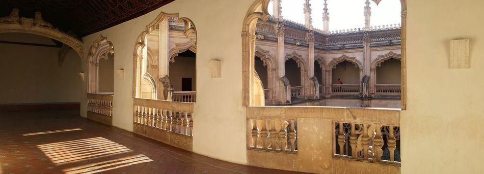 No filter. Monasterio San Juan de los Reyes, Toledo. Room with a view.
