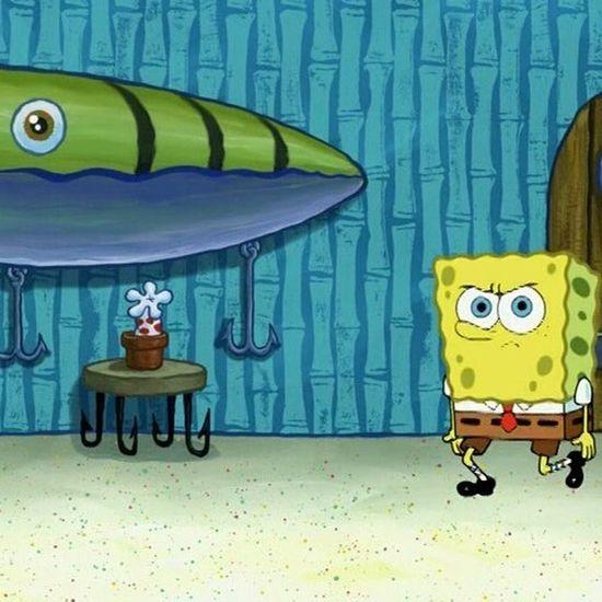 Marink realization... Spongebob lives in a House of Bones . Possible Creepypasta Horror Comedy Hilarious Cartoon Joke Spongebobsquarepants