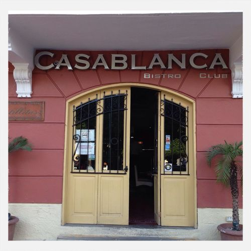 cafe Casablanca Enjoying Life Panamá Taking Photos IPhoneography