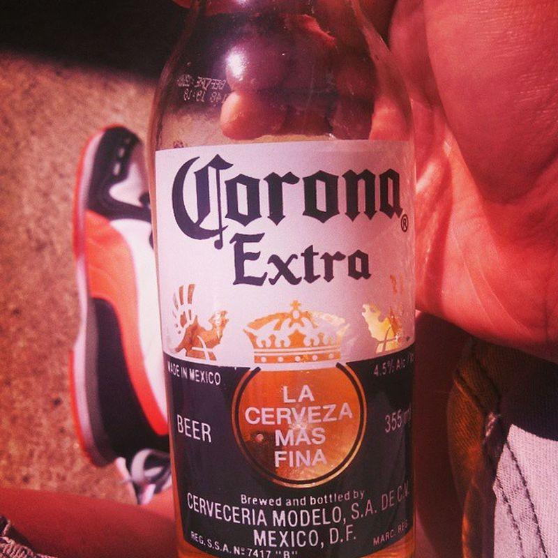 Sunday chill sesh Instadaily Corona Puma Arvo Drinks