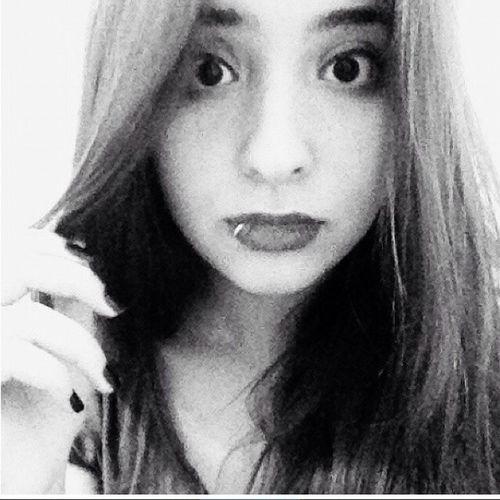 Me Myself Black And White Lippiercing Black & White Selfie Eyes