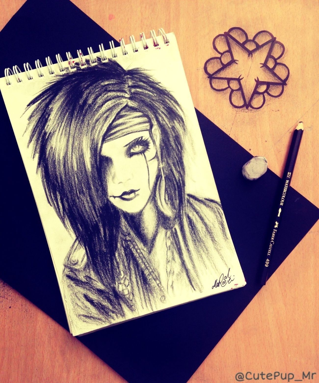 Finally Finished Drawing Andy Biersack ! 🤘😋 Blackandwhite Black Veil Brides BvB BlackVeilBrides Rockstar Pencil Drawing Art Photography ArtWork Art, Drawing, Creativity Sketch Black Veil Brides <3  AndyBiersack Rock Music Rock'n'Roll Pencilart Done Star Black And White Sketching Rock Band 😋 Rock Singer