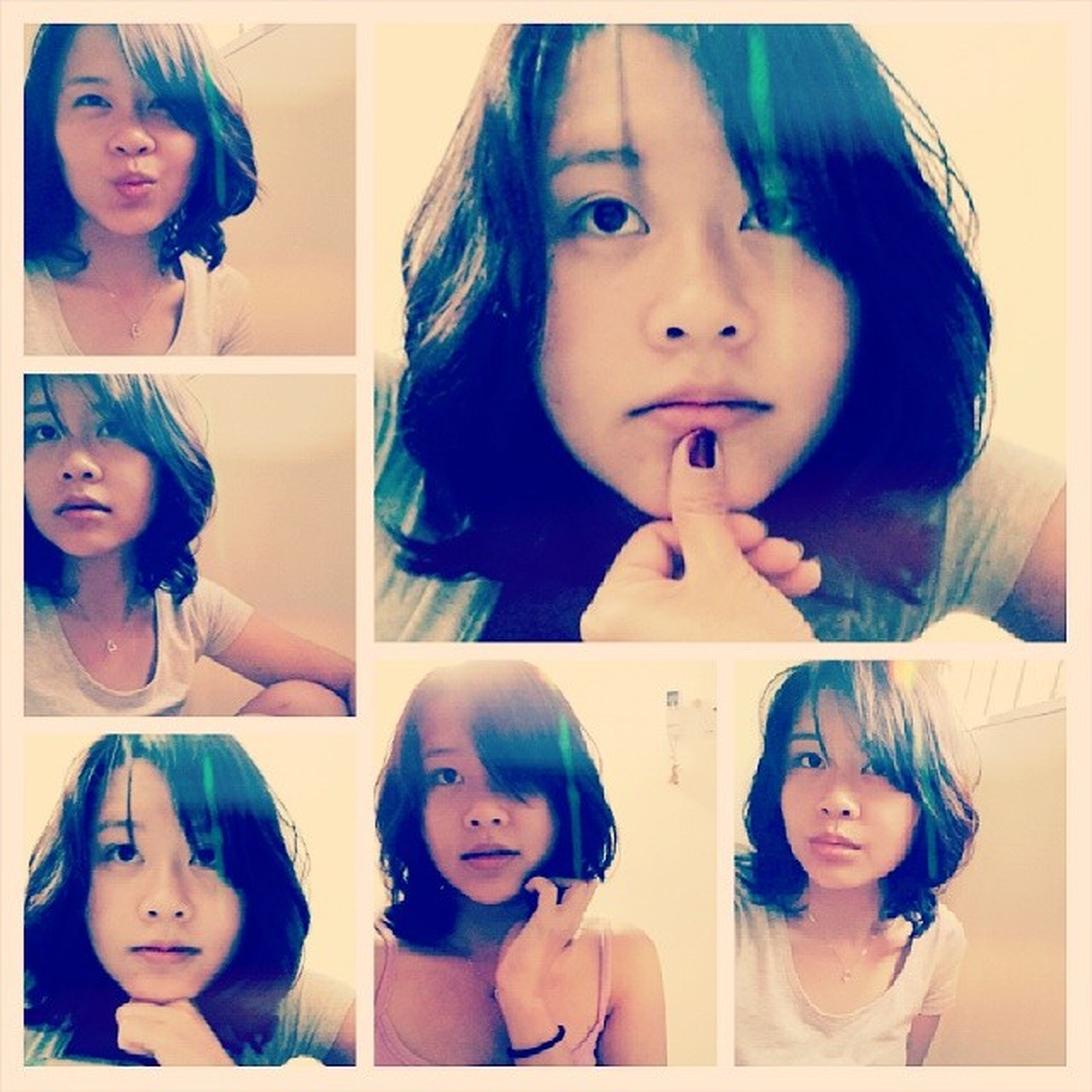 Selfie Curly_short_hair