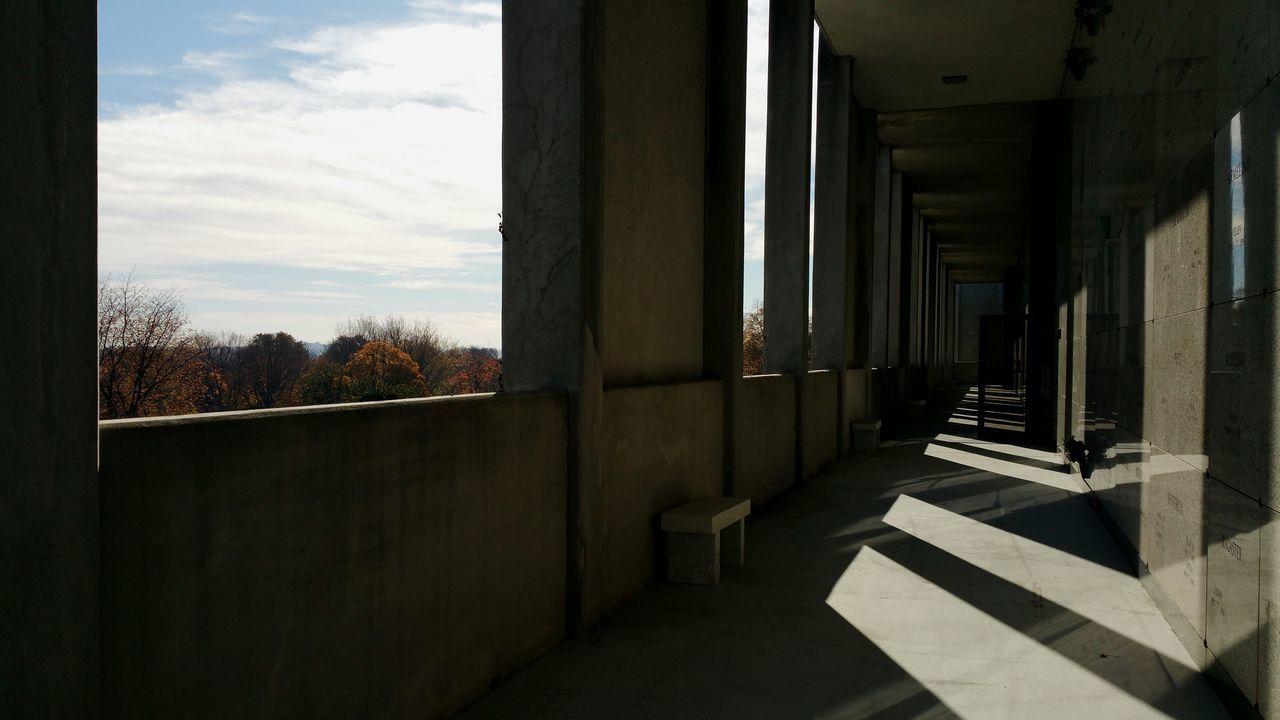 Architecture Built Structure Architectural Column Indoors  No People Light final rest Eternal Rest Eternal Light
