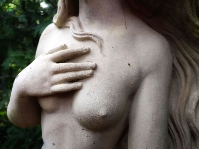Statue Human Body Part Close-up Sculpture Adult Outdoors Nature One Person Human Hand Day People Tree Adults Only Beauty Bust  Art Stone Sculpture Venus De Milo Portrait Venus Portrait Of A Woman Young Adult Statue Body Study No People