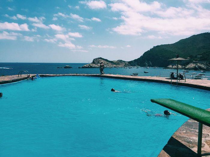Nice Atmosphere Beautiful Surroundings Pool Holiday View First Eyeem Photo