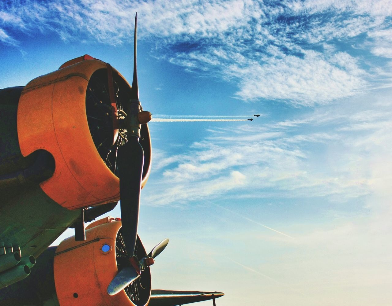 Beautiful stock photos of plane, Air Vehicle, Airplane, Cloud - Sky, Day