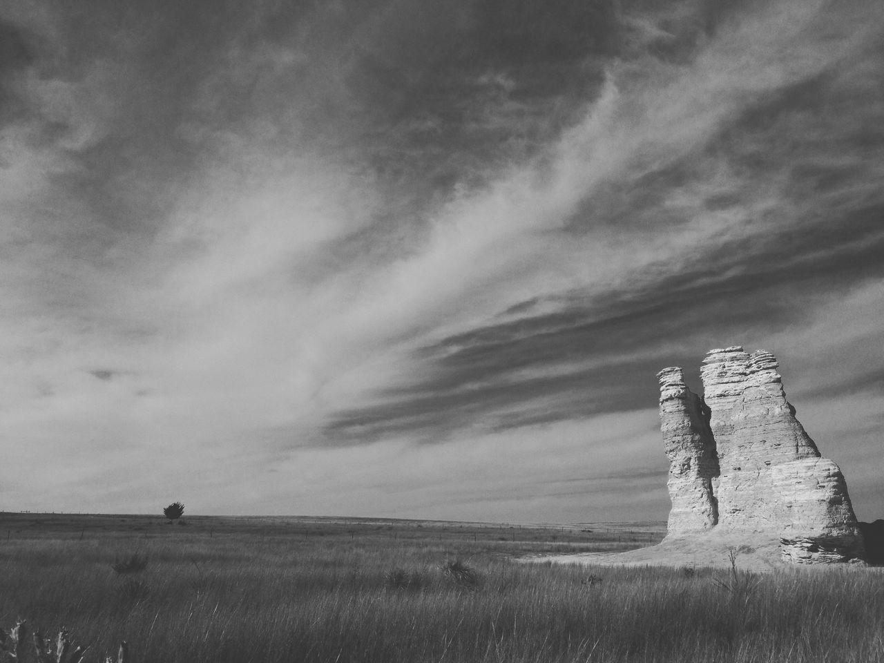 Castle rock. Photography Escaping Blackandwhite Kansas Travel Destinations