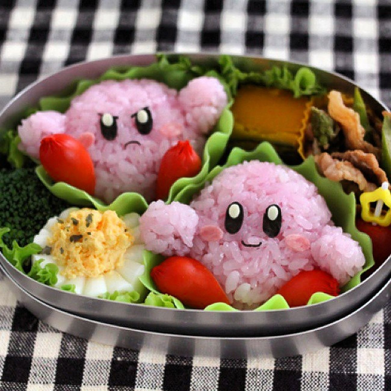 Kirdy Nintendo Thanksgiving Delicious lunch adorable cute food sushi supersmachbrothers wiiu smashbros