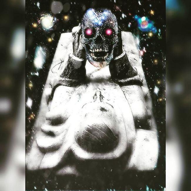 Digitalart  Photomanipulation Darkart Skulls Death Cemeteryart