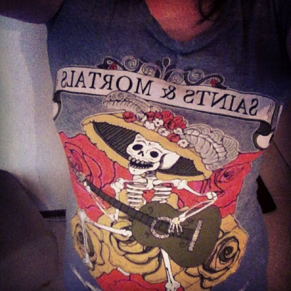 New shirt! Carlings Skeleton Tshirt Something new saint&mortals