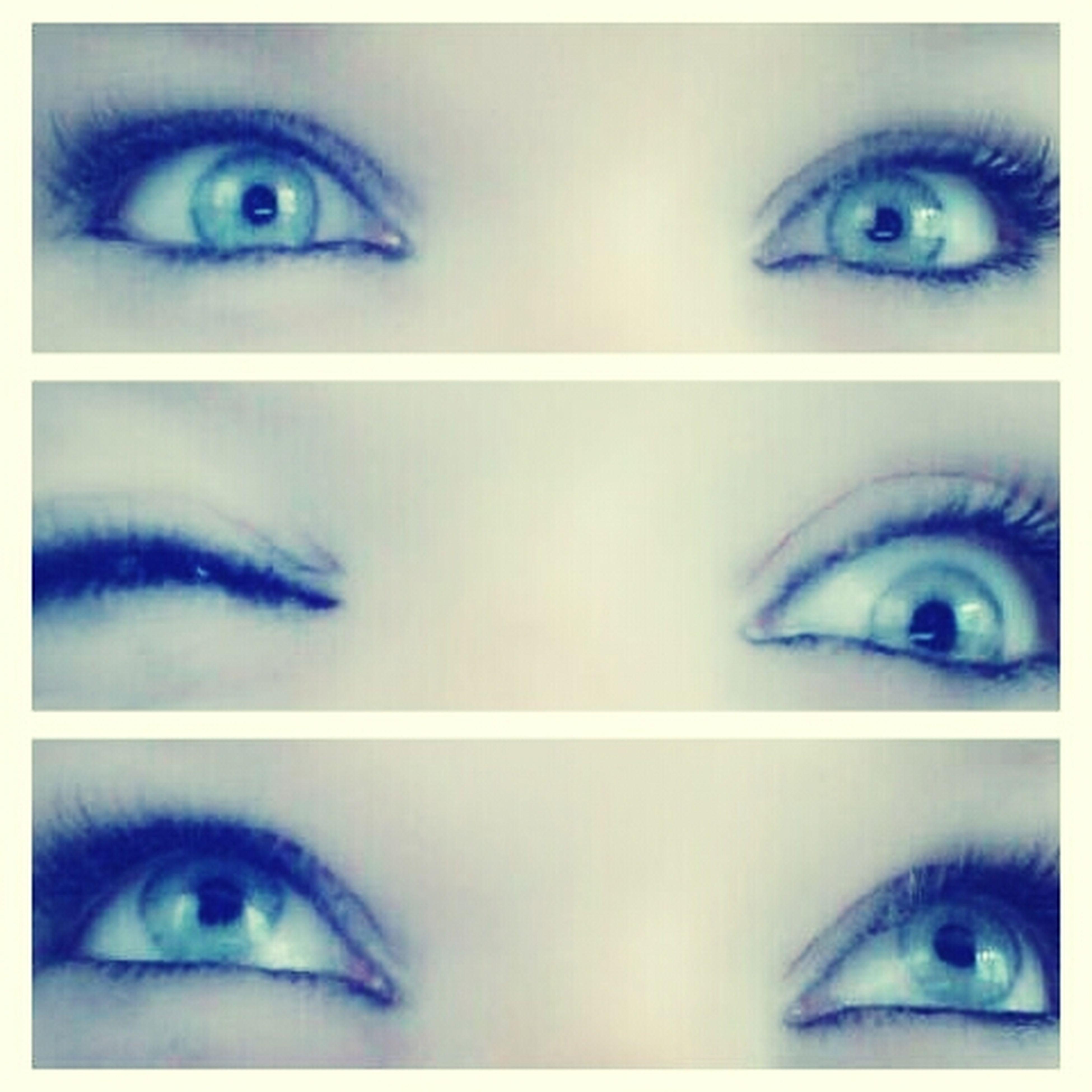Me Blue Eyes Black Mascara