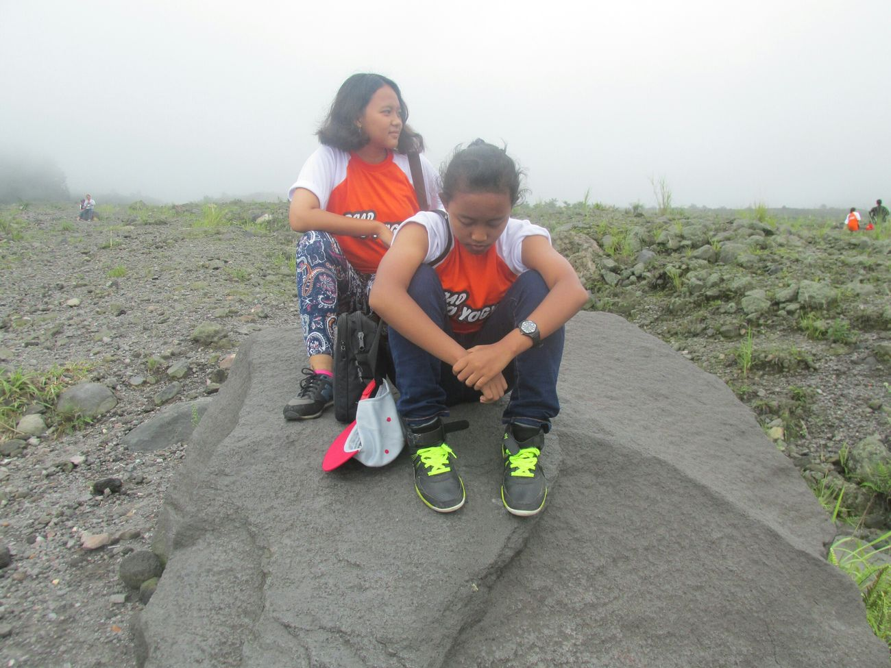 Stretphotography Nature Rocks Yogyakarta I Like My Style Snapback Mini Bag Sport Shoes Study Tour with Hana Paskariani