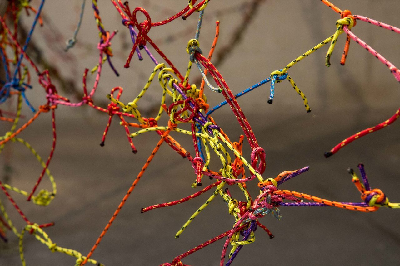 Art Artist Arts Culture And Entertainment ArtWork Close-up Fisher Net Fishnet Joan Miró  Miró  No People