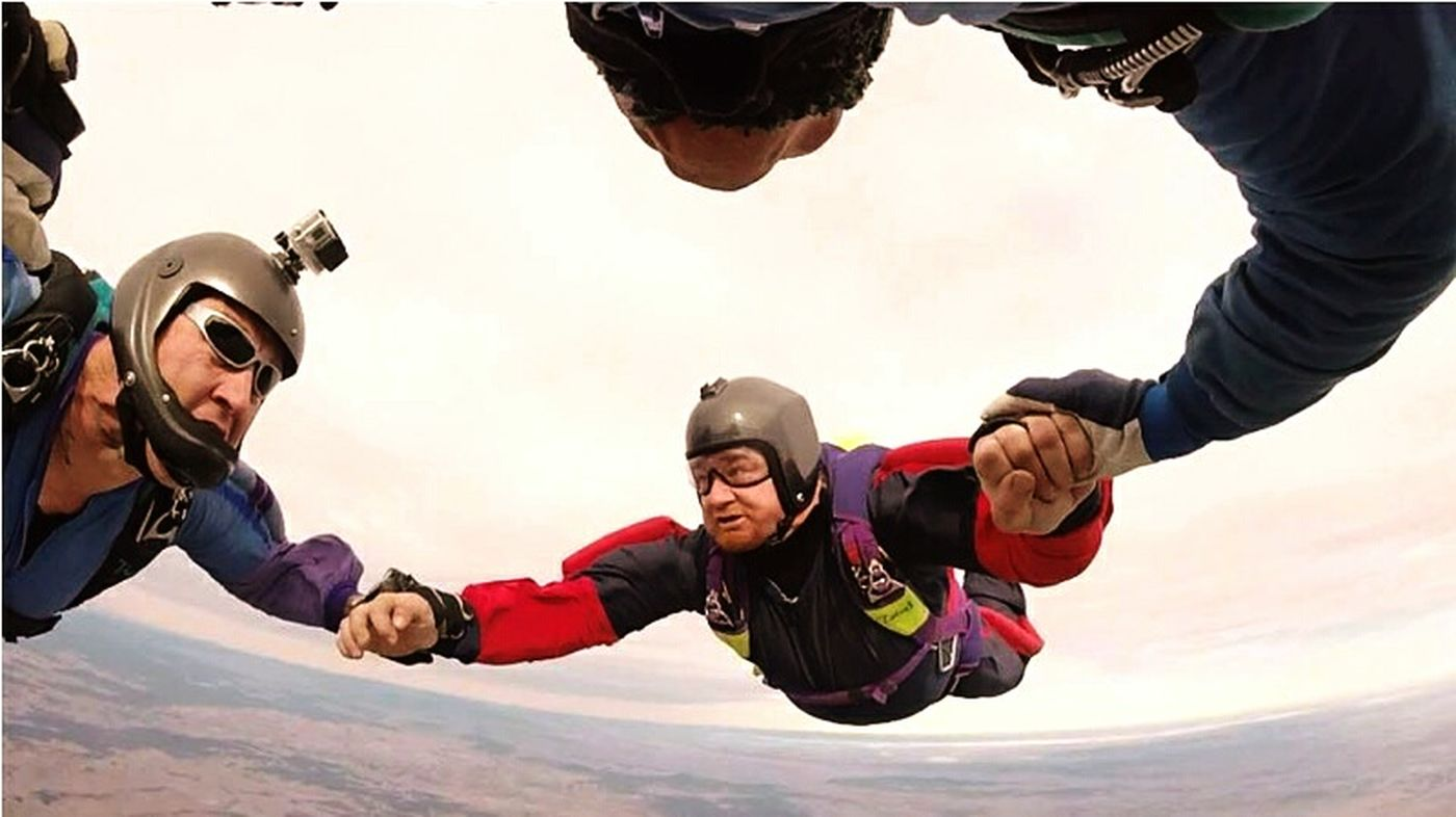 Old But Awesome Skydiving Adrenalin Skydive 4way Adrenaline Junkie