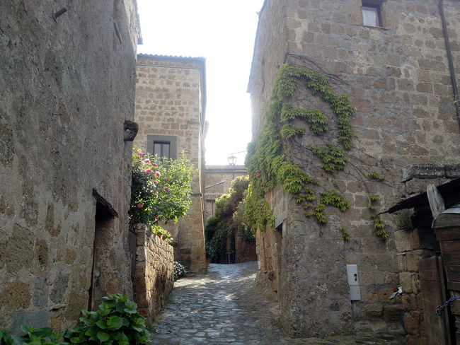 Alley Ancient Architecture Architecture Civita Di Bagnoregio Narrow Old Sunlight The City That Is Dying The Way Forward Tuff Tufo World Monuments Watch