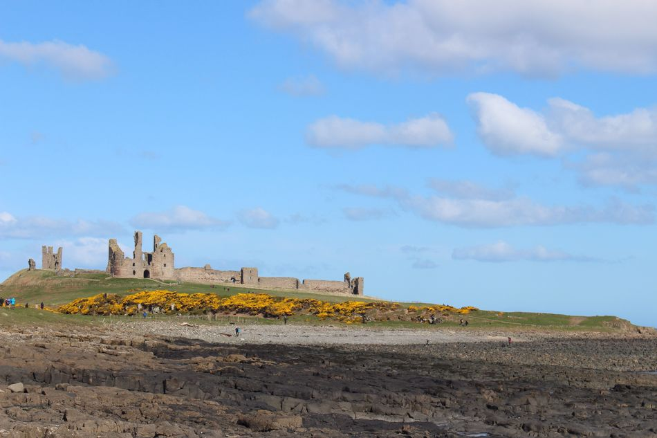 Coastal walk Sky Cloud - Sky Day Outdoors No People Nature Scenics Landscape Beauty In Nature Architecture Northumberland Dunstanburgh Castle Architecture History Hiking Coastal Walk Geography
