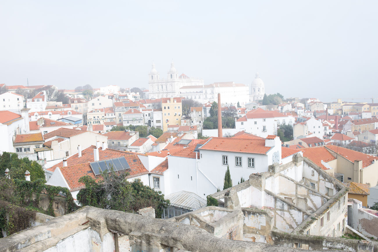beautiful portugal Architecture Building Exterior Built Structure City Cityscape Day High Angle View House No People Outdoors Residential Building Residential District Roof Sky Tree