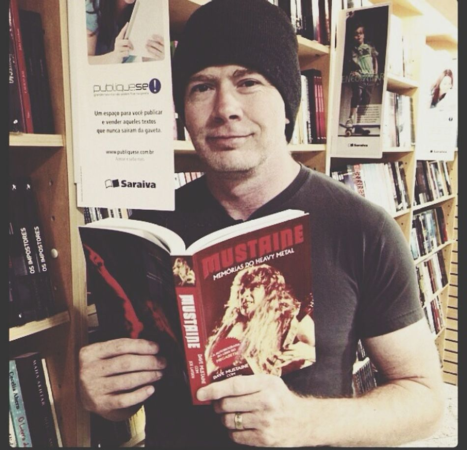 i NEED that book. Dave Mustaine Megadeth God Metal Metalhead Trash
