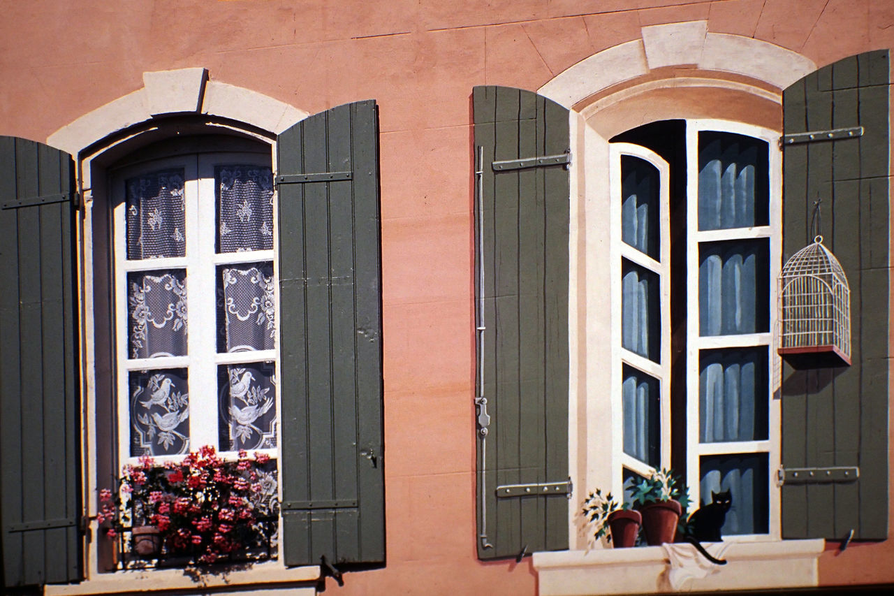 Architecture Arles Building Exterior France No People Outdoors Trompe-l'œil Window